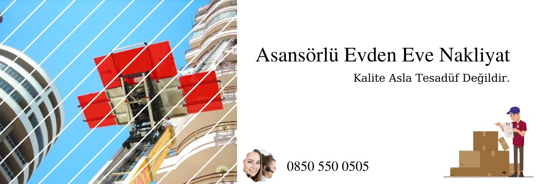 İstanbul asansörlü evden eve taşıma