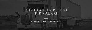 İstanbul nakliye firmaları