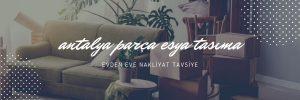 Antalya parsiyel taşıma