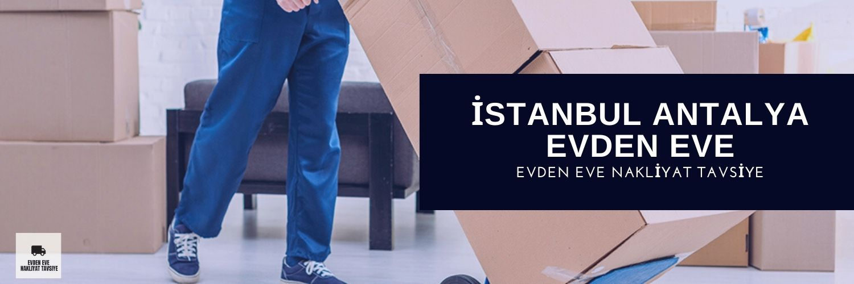 Antalya İstanbul evden eve